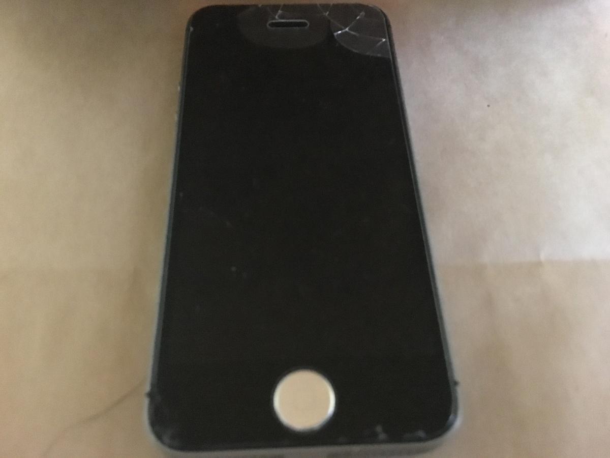 iPhone5s破損