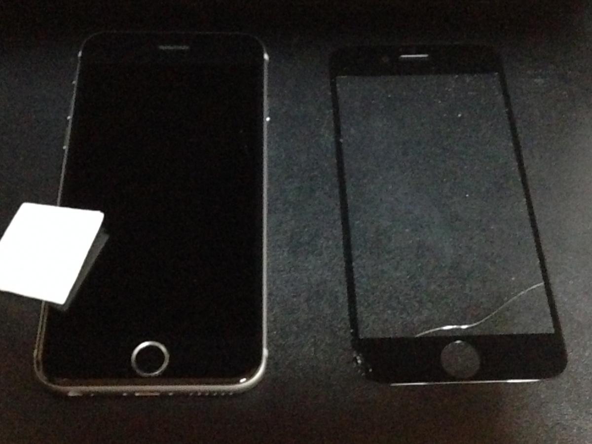 保護ガラスをiPhoneから剥がす